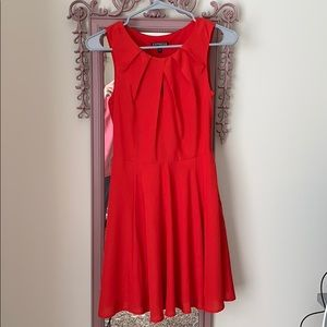 Red Express Mini Dress